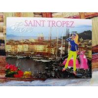В подарок к купленной открытке ,книге . Стерео открытка Франция подписана