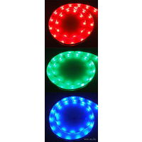 Светодиодная лента 5050 1 метр. Цвет: Красный, зелёный, синий.  В силиконе!
