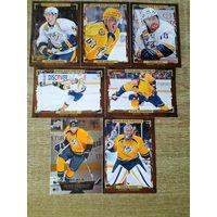 7 карточек НХЛ одним лотом.