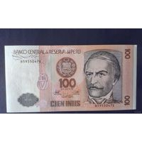 Перу 100 ИНТИ 1987г. UNC пресс