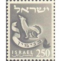 Израиль герб волк