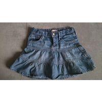 Юбка джинсовая р.116 см
