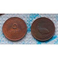 ОАЭ 5 филсоф. Рыба. Инвестируй выгодно в монеты планеты!