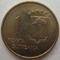 Экваториальная Гвинея 1 песета 1969 г.