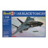 Сборная модель Самолет F-14A Блэк Томкэт,артикул 04029,Revell 1/144