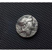 Драхма Каппадокии. Ариарат V. Афина Никифора 163-130гг до н.э.