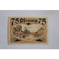 ГЕРМАНИЯ, 75 Пфеннигов 1921 г.   -HERZLAKE-