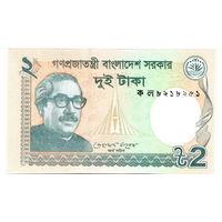 Бангладеш  2 така   2013 год   UNC