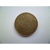 50 евроцентов Германия 2002 года