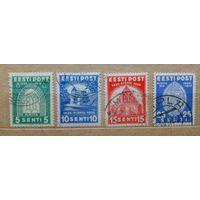 Эстония\#435\1936 Mi120-123 14mi