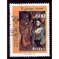 1 марка 1991 год Италия 2166