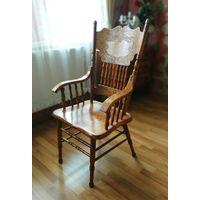 Старинные немецкие стулья к обеденному столу.Дуб массив.Altdeutsche Still. 30-40ые годы.
