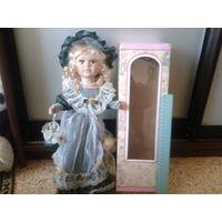 Кукла коллекционная в коробке. Хороший подарок!