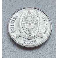 Ботсвана 10 тхебе, 2008 7-1-13