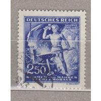 130 лет со дня рождения Рихарда Вагнера Германия рейх  Богемия и Моравия 1943 г лот 12