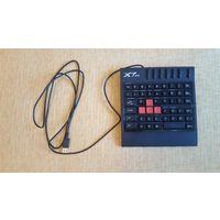 Клавиатура A4Tech X7-G100 Black USB