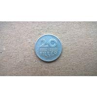 Венгрия 20 филлеров, 1977г. **