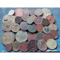 Старинные монетки..