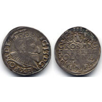 Трояк 1594, Сигизмунд III Ваза, Познань