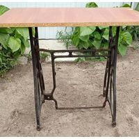 Станина от швейной машины стол мангал