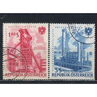 Австрия Респ 1961 15 лет национализации промышленности #1094,1096