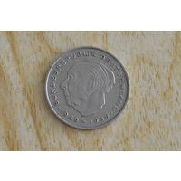 Германия 2 марки 1973D   Теодор Хойс