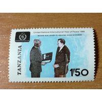 Танзания 1986. Человек года