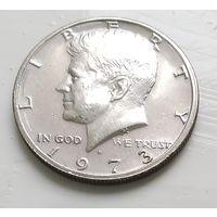 "США 1/2 доллара, 1973 ""D"" - Денвер 1-12-10"