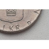 "Швеция 1 крона 1990 ""D""_ KM#852 (1982–2000 г.)"