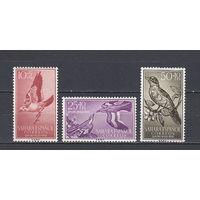 Фауна. Птицы. Сахара. 1958. 3 марки (полная серия). Michel N 184-185 (3,0 е)