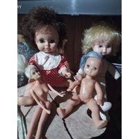 Куклы СССР с потерями.