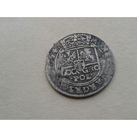 С рубля! Тымф 1664г.