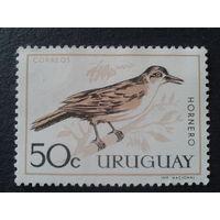 Уругвай 1963 птица