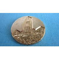 Настольная медаль Киево-печерская лавра. Металл