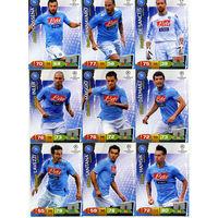 Коллекция PANINI Лига Чемпионов УЕФА 2011-2012. Adrenalyn XL // Napoli // Maggio