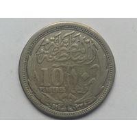 Египет 1910г 10 пиастр.