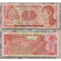 Распродажа коллекции. Гондурас. 1 лемпира 2004 года (P-84d - 2000-2010 Issue)