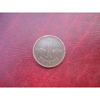 1 пенни 1968 год Финляндия