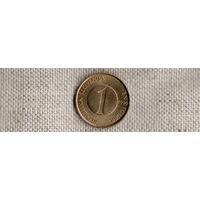 Словения 1 толар 1999 /фауна/рыбы/ (NS)