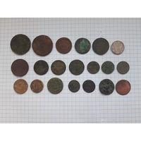 Монеты разные