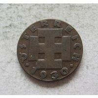 Австрия 2 гроша 1930