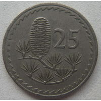 Кипр 25 милс 1963 г. (gl)