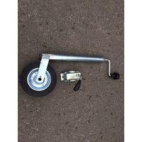 Опорное колесо с хомутом к прицепу