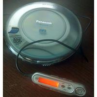 Портативный CD/mp3 плеер Panasonic SL-CT510