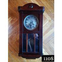 """Старинные Маятниковые Часы """"REFORM"""" в деревянном корпусе, Редкие, 1895 - 1910гг."""