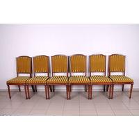 Комплект из 6 стульев.Винтаж.Массив.