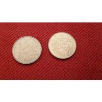 1 гривна лот из двух разных гривен