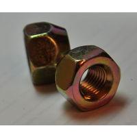 Гайки колесные конические, под ключ 21 мм, для штампованных дисков