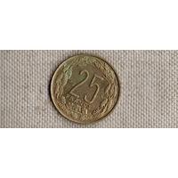 Камерун 25 франков 1972(Li)