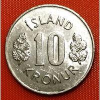 102-14 Исландия, 10 крон 1973 г.